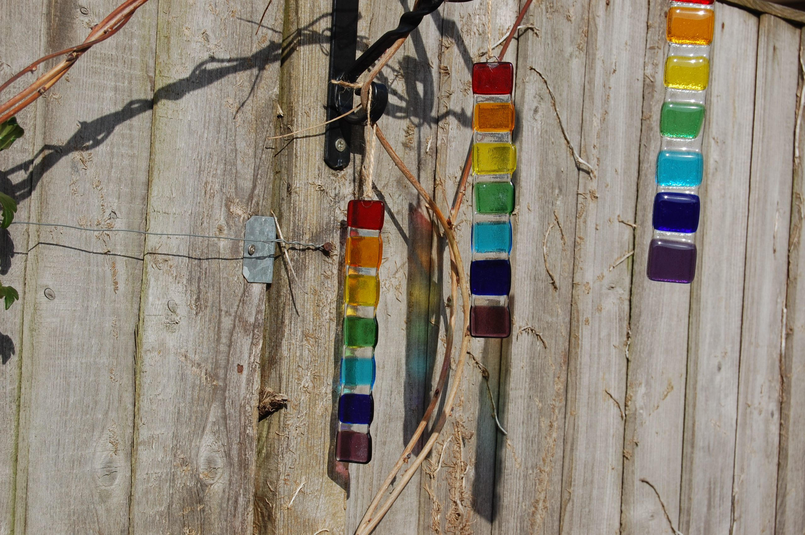 Rainbow Sticks. Chakra Sticks, Wish Sticks