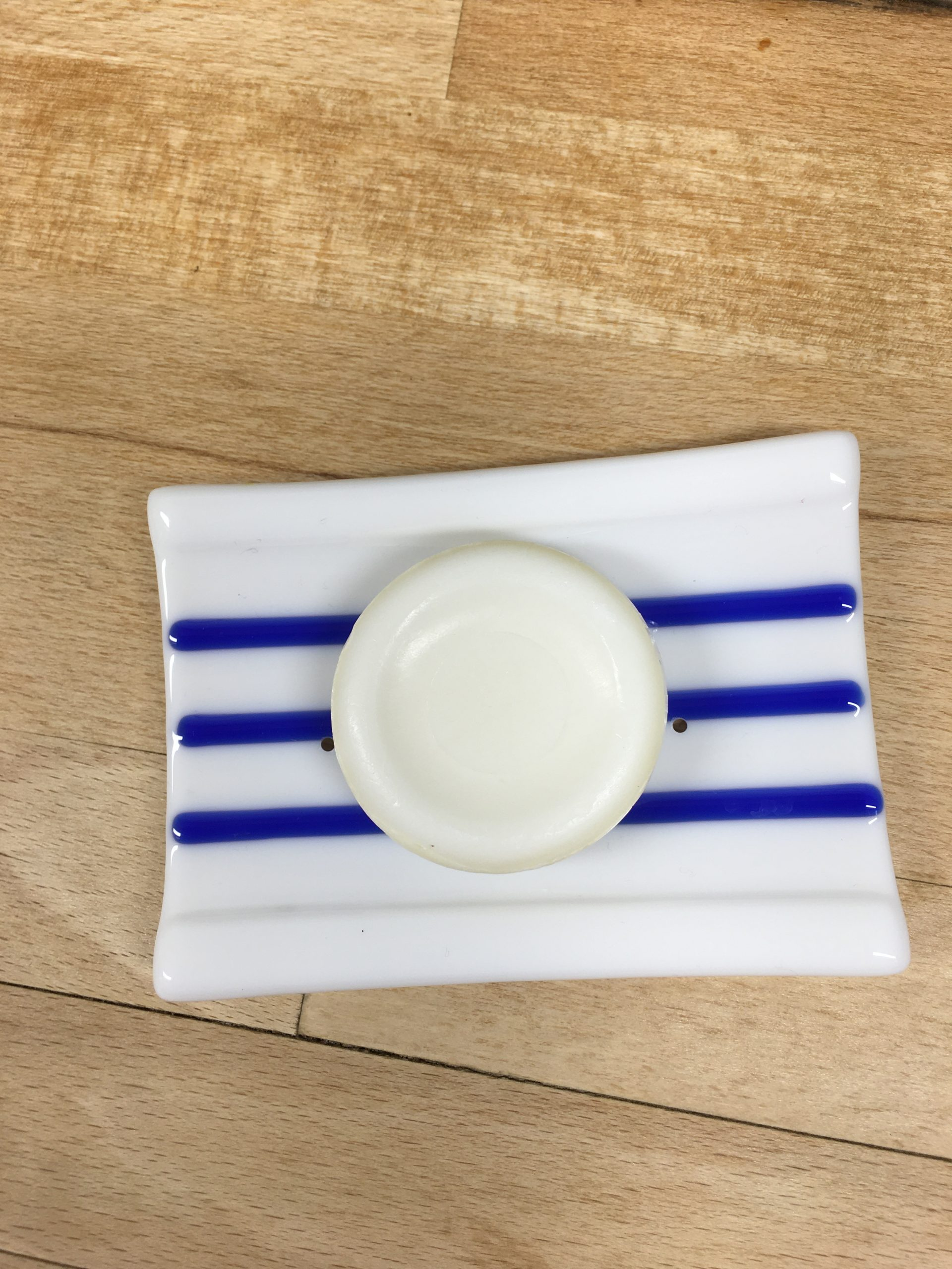 Blue & White Soap Dish