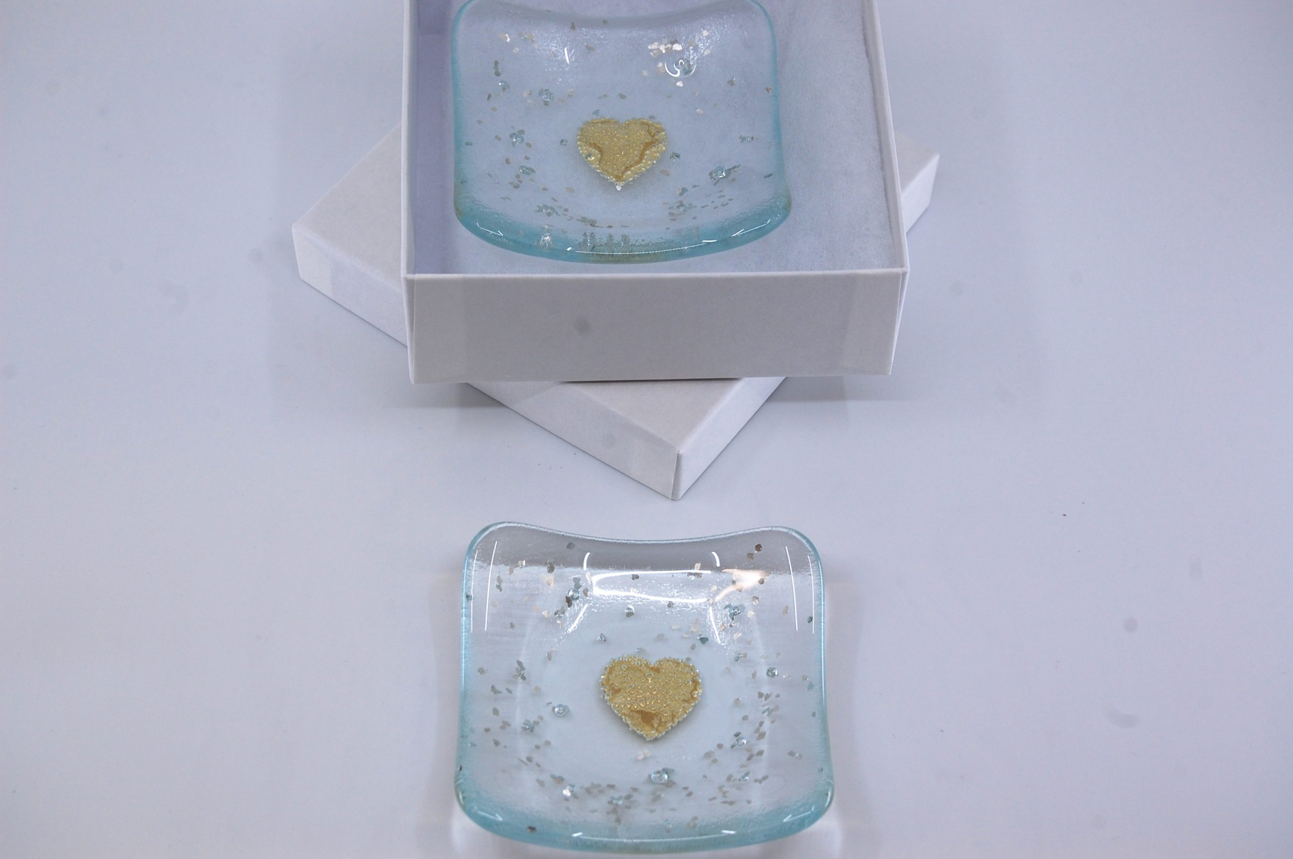 Heart Trinket Dish - Gold